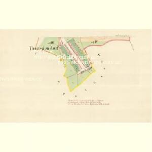 Theresiendorf (Terezow) - m3091-1-003 - Kaiserpflichtexemplar der Landkarten des stabilen Katasters