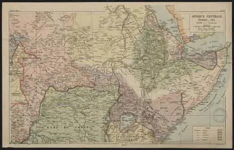 Afrique centrale. Congo-Nil