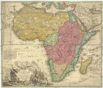 Totius Africae nova repraesentatio