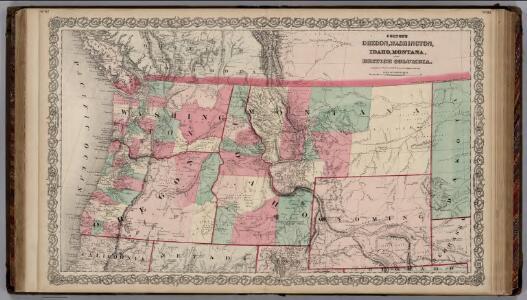 Oregon and Washington Territory.