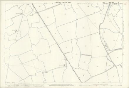 Kent LXXXIII.11 (includes: East Guldeford; Ivychurch) - 25 Inch Map