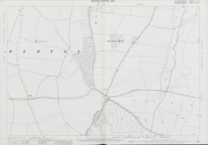 Gloucestershire VI.6 (includes: Charlton; Elmley Castle; Evesham; Hinton on the Green; Netherton) - 25 Inch Map
