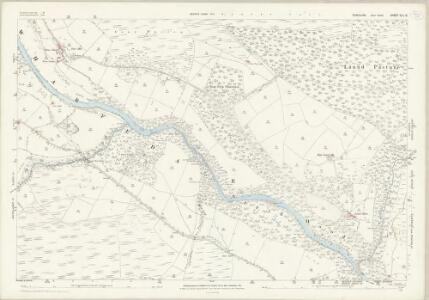 Yorkshire CLI.12 (includes: Barden; Bolton Abbey; Hazlewood With Storiths) - 25 Inch Map