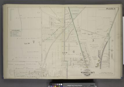 Parts of the City Auburn. Wards 4.5& 7.