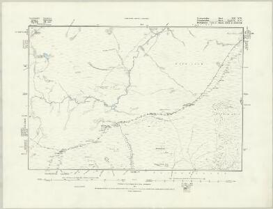 Merionethshire XII.NE - OS Six-Inch Map