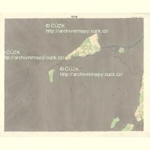 Ostrawitz - m2189-1-023 - Kaiserpflichtexemplar der Landkarten des stabilen Katasters