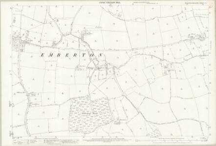 Buckinghamshire V.7 (includes: Clifton Reynes; Emberton) - 25 Inch Map