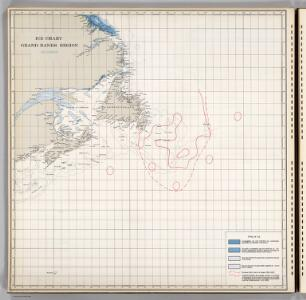 Ice Chart, Grand Banks Region, December.