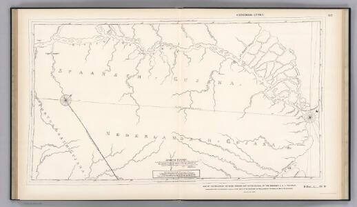 Boundary-line of Spanish and Dutch Guinana by Heneman.