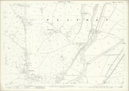 Sussex XLV.3 (includes: East Guldeford; Playden) - 25 Inch Map
