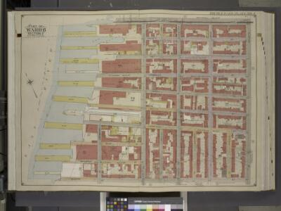 Brooklyn, Vol. 1, Double Page Plate No. 5; Part of    Ward 6, Section 2; [Map bounded by Atlantic Ave., Clinton St., Degraw St.,       Sedgwick St., Van Brunt St.; Including Baltic St., Warren St., Congress St.,     Amity St., Pacific St.]