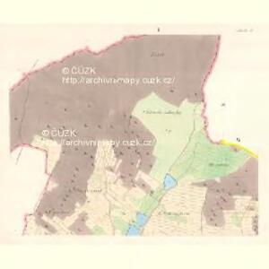 Ihlawka - m1102-1-001 - Kaiserpflichtexemplar der Landkarten des stabilen Katasters