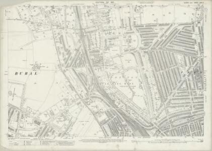 Sussex LXVI.5 (includes: Brighton; Hove) - 25 Inch Map