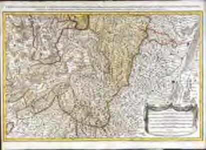 Les prevotez, offices, senéchaussée et comté, qui font partie des balliages de Vosge ou Mirecour et de Nancy