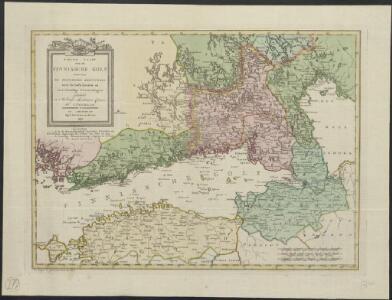 Nieuwe kaart van de Finnissche Golf benevens de omliggende provintien : naar de beste kaarten en sterrekundige waarnemingen geteekend in 't Konigl. Landmeeters Comtoir te Stockholm