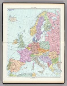 49-50.  West Europe, Political.  The World Atlas.