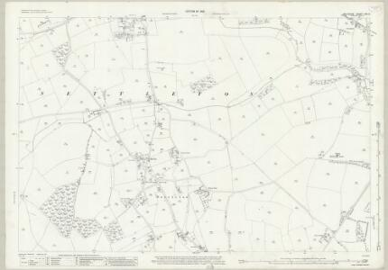 Wiltshire XIX.2 (includes: Grittleton; Nettleton) - 25 Inch Map