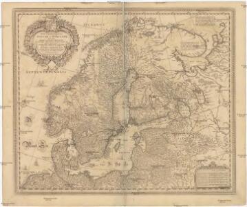 Tabula exactissima Regnorum SUECIAE et NORVEGIAE, nec non MARIS UNIVERSI ORIENTALIS, Terarumq. adjacentium