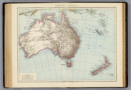 Australien, Neuseeland.