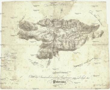 Carte von Innsbruck und dessen Umgebungen zum Behufe des Panorama