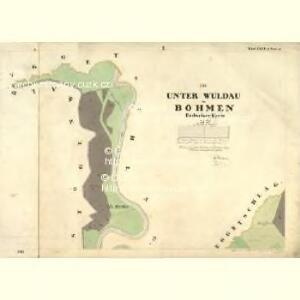 Unter Wuldau - c1412-1-001 - Kaiserpflichtexemplar der Landkarten des stabilen Katasters