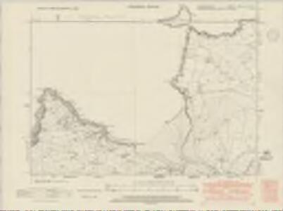 Cardiganshire XXIX.NE & SE - OS Six-Inch Map