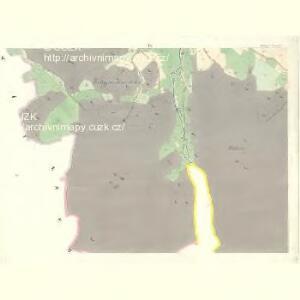 Wittiegitz (Wittiegic) - c8620-1-006 - Kaiserpflichtexemplar der Landkarten des stabilen Katasters
