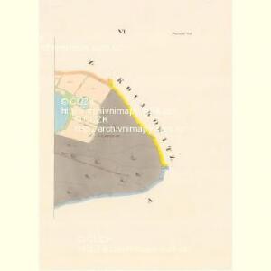 Petrowitz - c5739-1-005 - Kaiserpflichtexemplar der Landkarten des stabilen Katasters