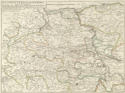 Electorat et Palatinat du Rhein