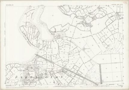 Cheshire VIII.12 (includes: Carrington; Flixton; Irlam; Partington) - 25 Inch Map