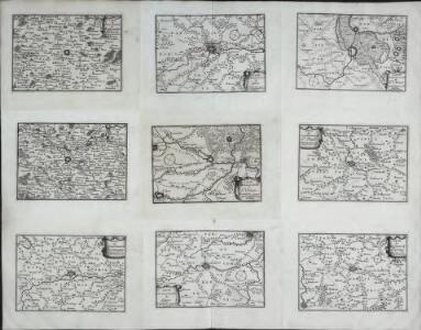 Carte du gouuerneme[nt] de St. Omer