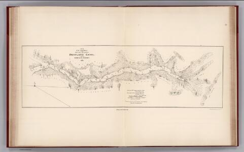 Facsimile:  Portland Canal - Admiralty Survey.