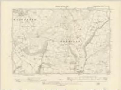 Cardiganshire XXV.NE - OS Six-Inch Map
