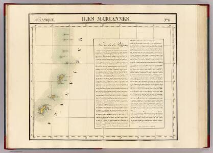 Iles Mariannes. Oceanique no. 5.