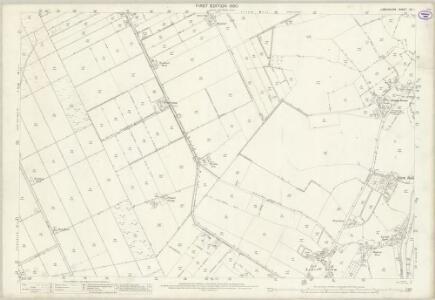 Lancashire CX.1 (includes: Irlam) - 25 Inch Map