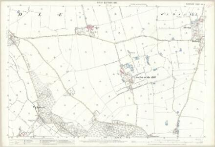 Shropshire XXI.14 (includes: Broughton; Myddle) - 25 Inch Map