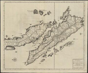 Nieuwe kaart van het eyland Sumatra