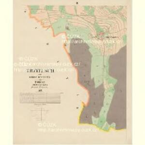 Trzitesch - c6467-2-003 - Kaiserpflichtexemplar der Landkarten des stabilen Katasters
