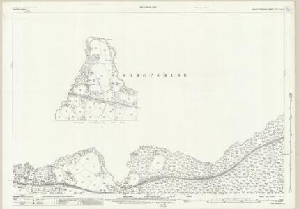 Worcestershire VII.15 & 14 (includes: Cleobury Mortimer; Kinlet; Neen Savage; Rock) - 25 Inch Map