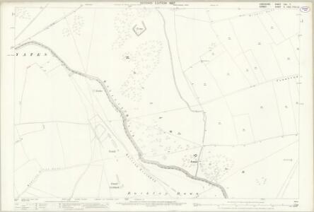 Hampshire and Isle of Wight LIVA.7 (includes: Martin; Pentridge) - 25 Inch Map