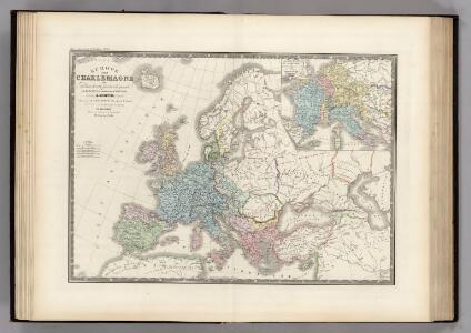 Europe sous Charlemagne.