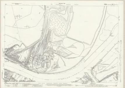 Durham LI.7 (includes: Billingham; Eston; Middlesbrough) - 25 Inch Map