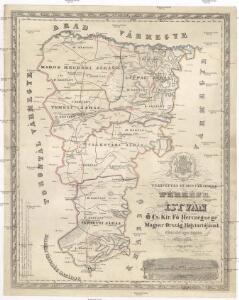 Tekintetes Temes vármegye térképe