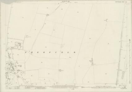 Hertfordshire IV.16 (includes: Reed; Therfield) - 25 Inch Map