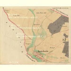 Dantschowitz - m0415-1-002 - Kaiserpflichtexemplar der Landkarten des stabilen Katasters