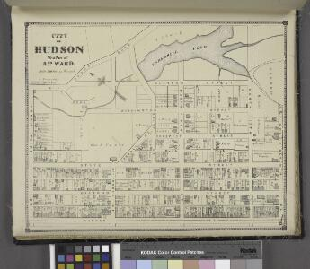 City of Hudson West Part of 4th Ward. [Township]