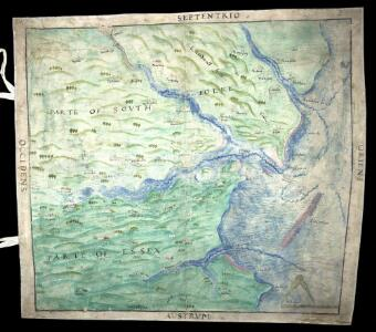 A Coloured Chart of the Coast of Essex and Suffolk, from the Naze to Bawdsey