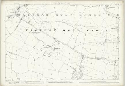 Essex (1st Ed/Rev 1862-96) LVII.3 (includes: Waltham Holy Cross) - 25 Inch Map