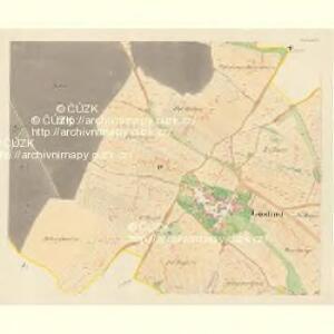 Gösling - m1293-1-003 - Kaiserpflichtexemplar der Landkarten des stabilen Katasters