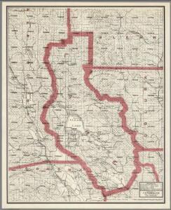 Weber's Map of Lake County, California